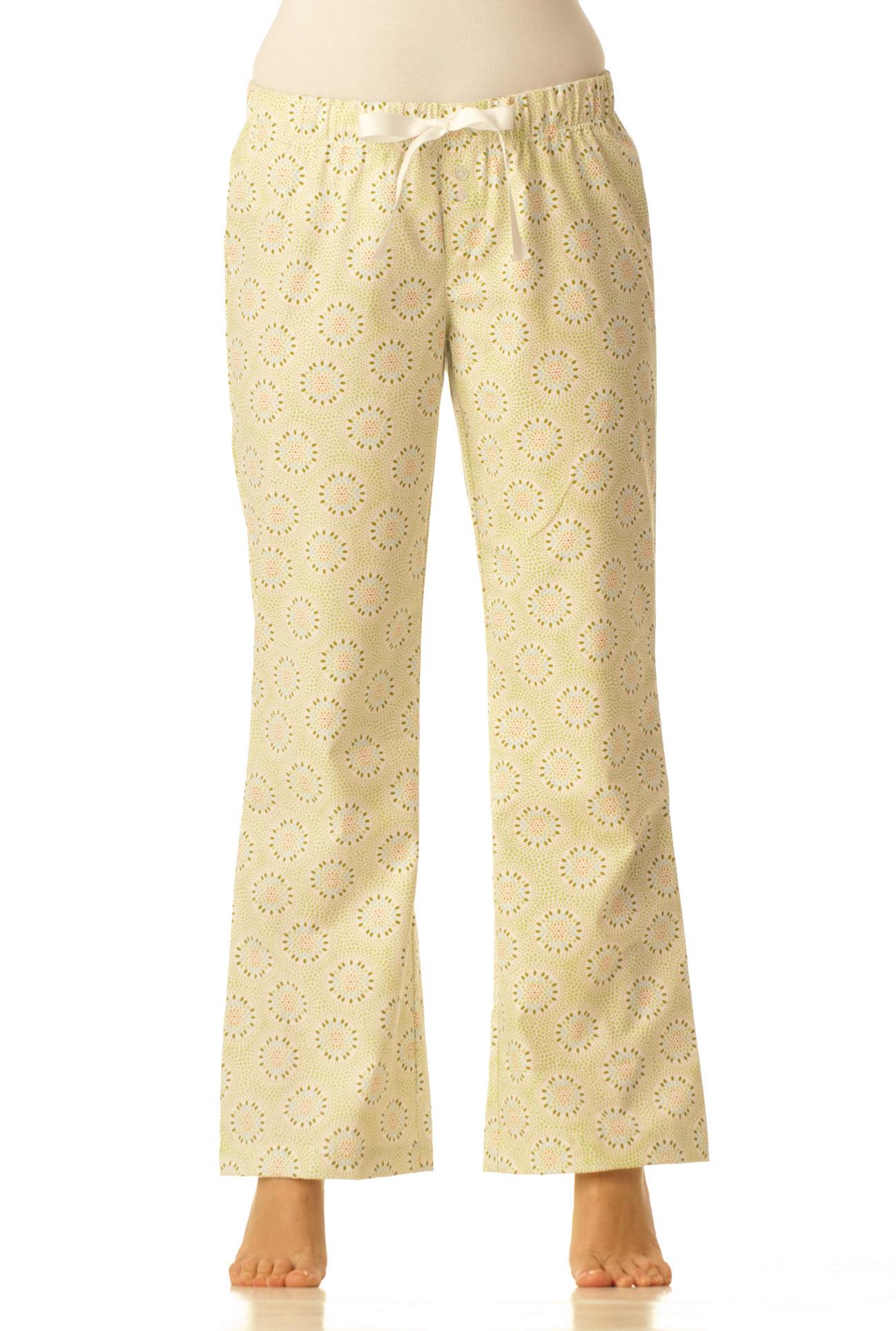 Pyžamové kalhoty - Světle zelené
